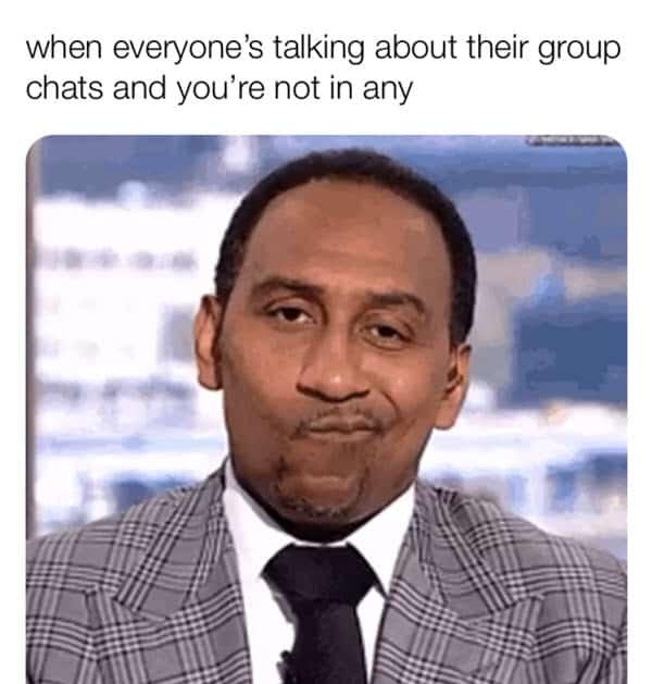 group chat everyone meme