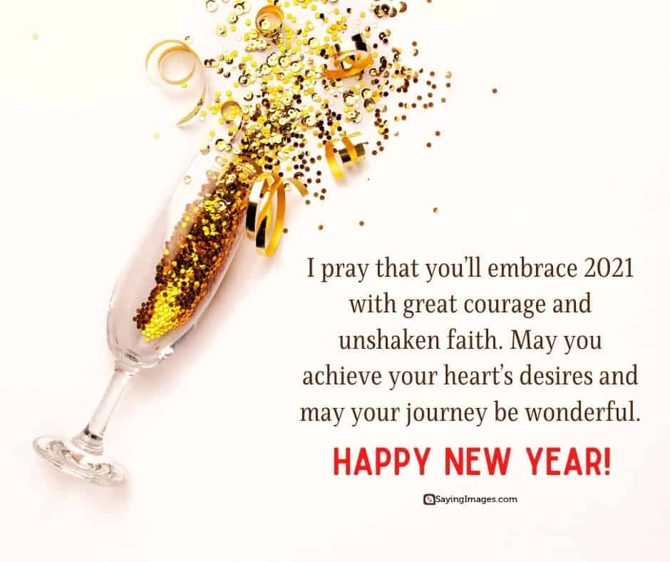 happy new year faith quotes