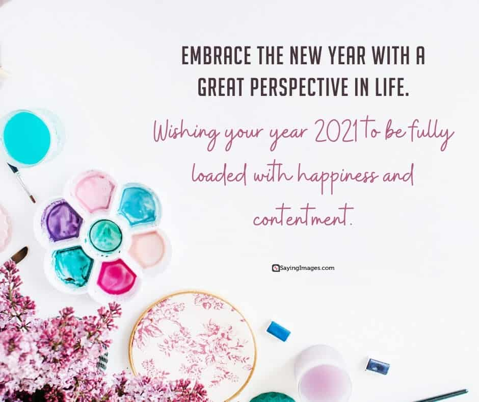 happy new year perspective quotes