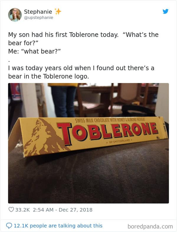 i was today years old toblerone bear memes