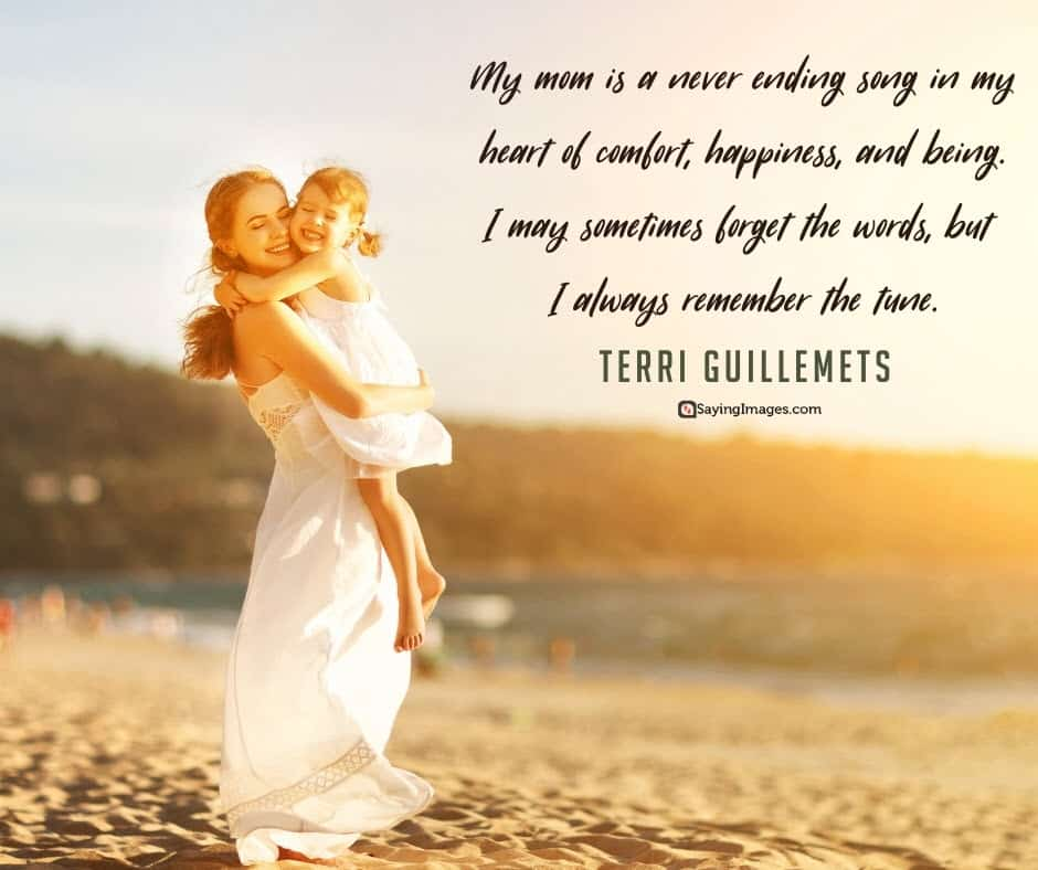 inspiring mom comfort quotes pictures