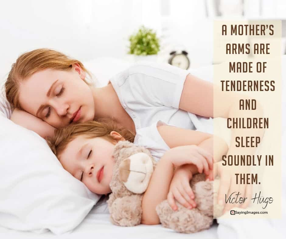 inspiring mom tenderness quotes pictures
