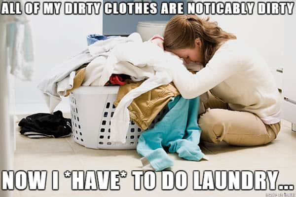 laundry all of my dirty clothes meme