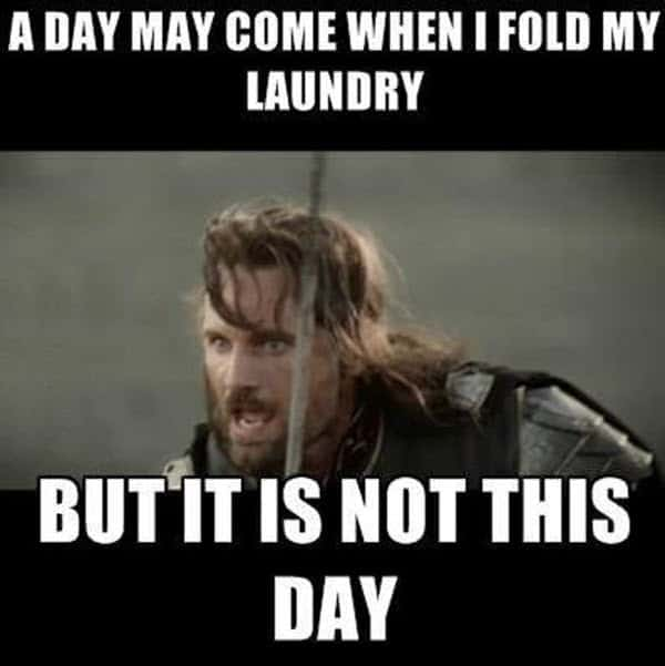laundry day may come meme