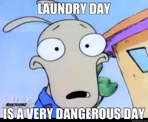 laundry day meme