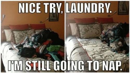 laundry nice try meme