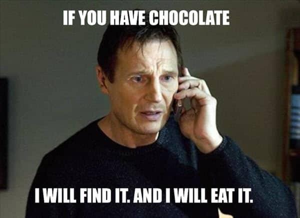 pms chocolates meme