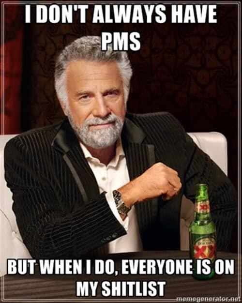 pms shitlist meme