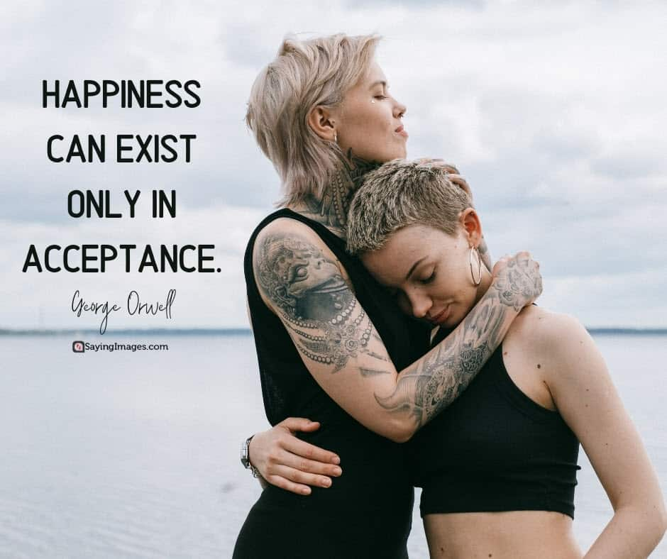 acceptance happiness quotes