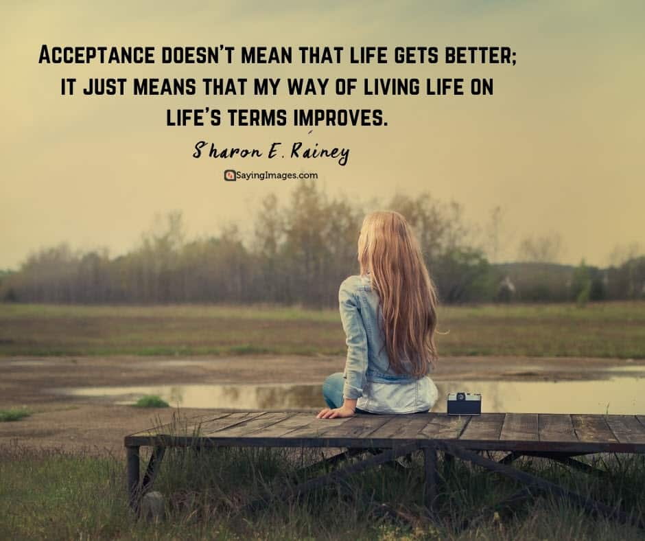 acceptance life quotes