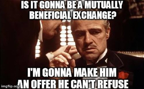 godfather mutually beneficial meme