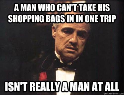 godfather shopping bags meme