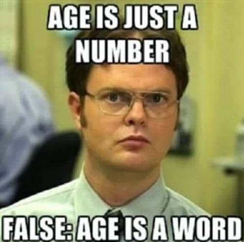 happy birthday husband age meme