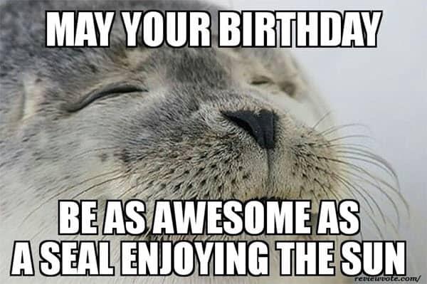 happy birthday husband awesome meme