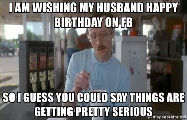 happy birthday husband fb meme