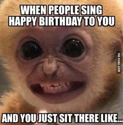 happy birthday husband people sing meme