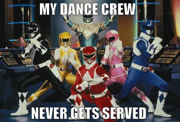 happy dance crew meme