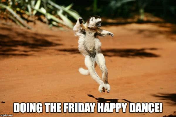 happy dance doing meme