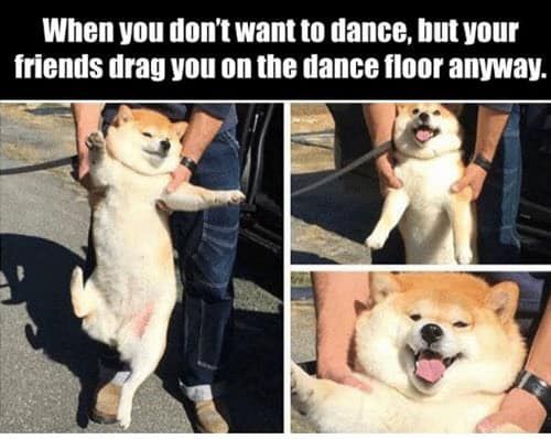 happy dance dont want to meme