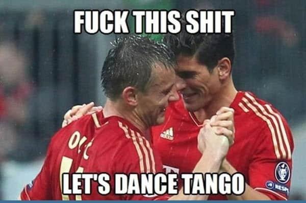 happy dance tango meme