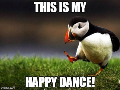 happy dance this is meme