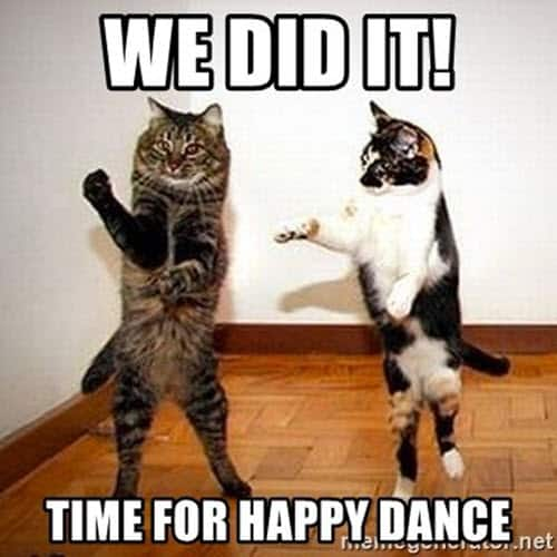 happy dance we did it meme