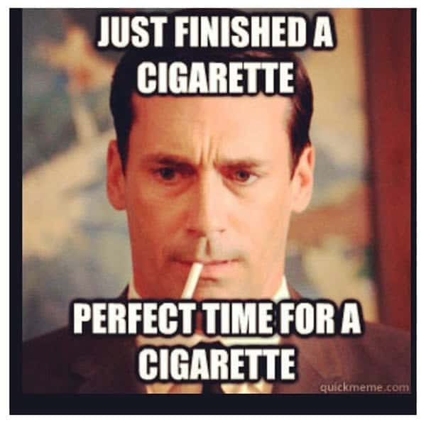 men cigarette memes