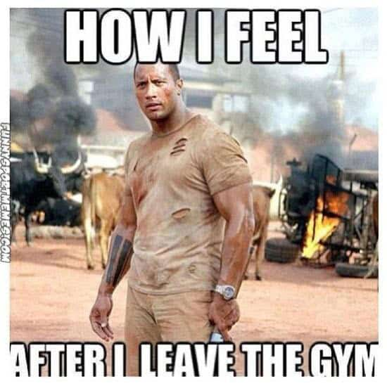 men leaving the gym memes