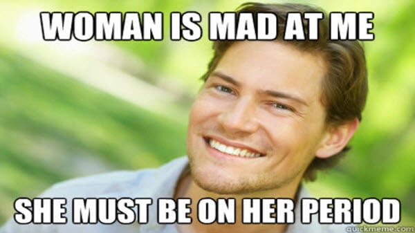 men woman is mad memes