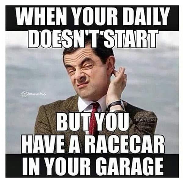 mr bean daily doesnt start meme