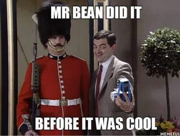 mr bean did it meme