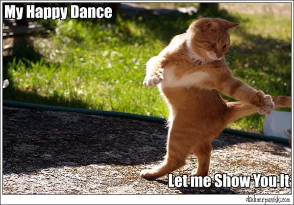 my happy dance meme