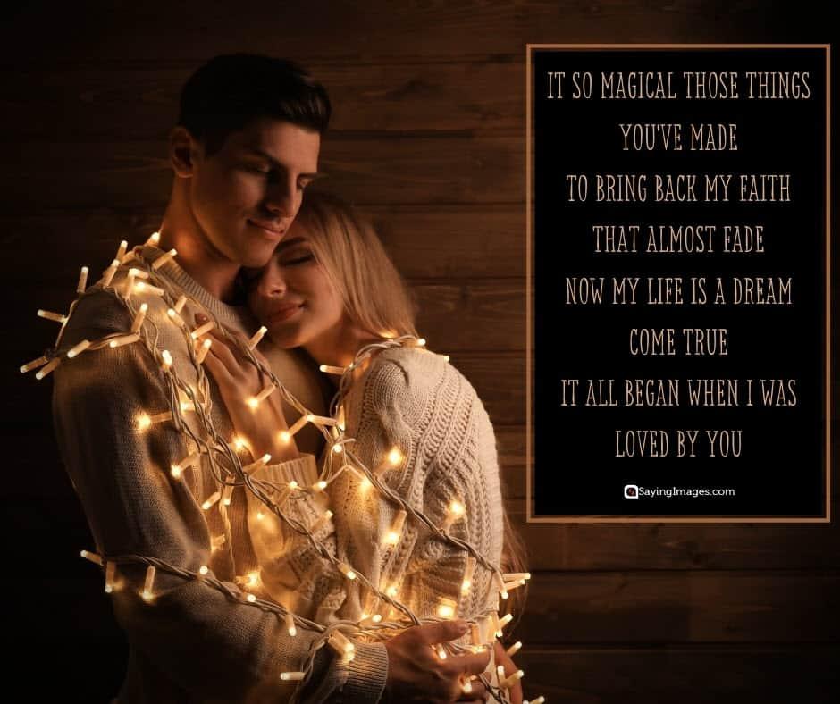 romantic love magic poems