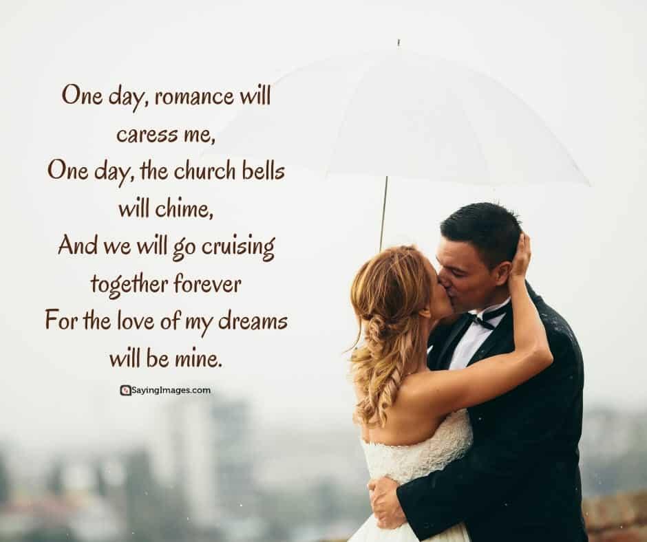 romantic love mine poems