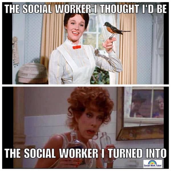 social work i thought id be meme