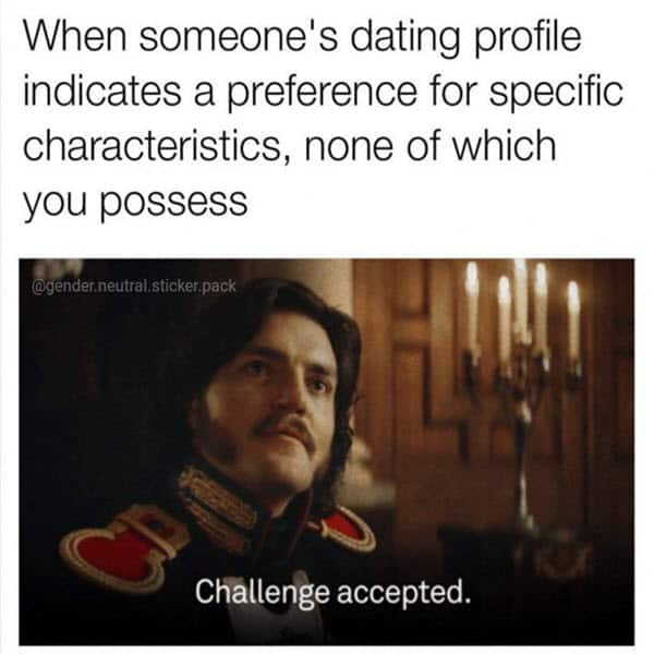 super funny dating profile memes