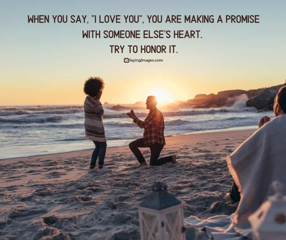 best i love you promise quotes