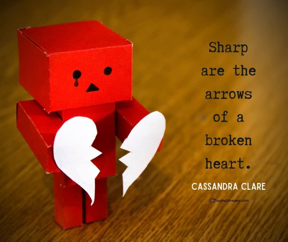 broken heart arrows quotes