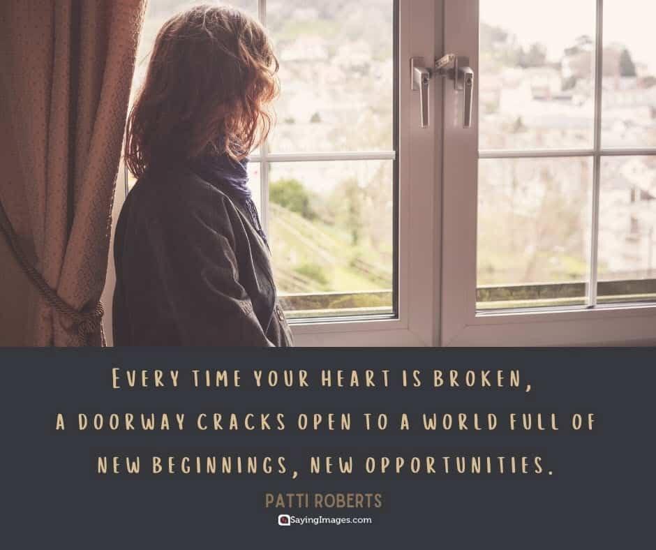 broken heart beginnings quotes