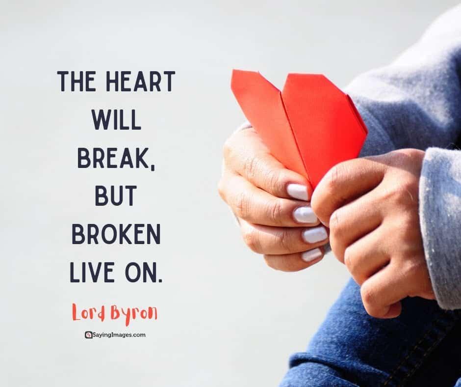 broken heart break quotes