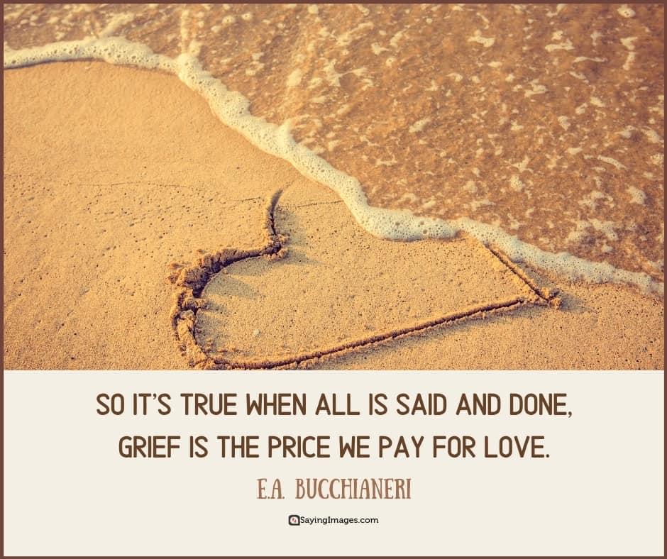 broken heart grief quotes