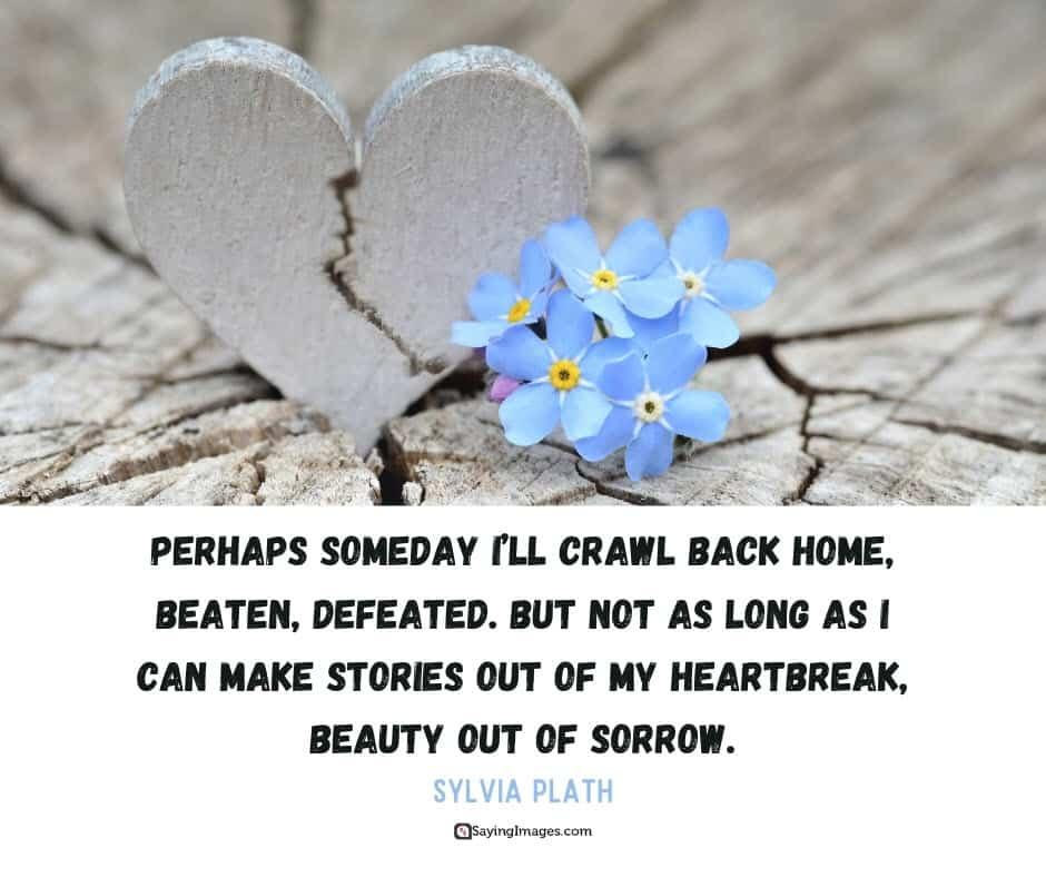 broken heart home quotes
