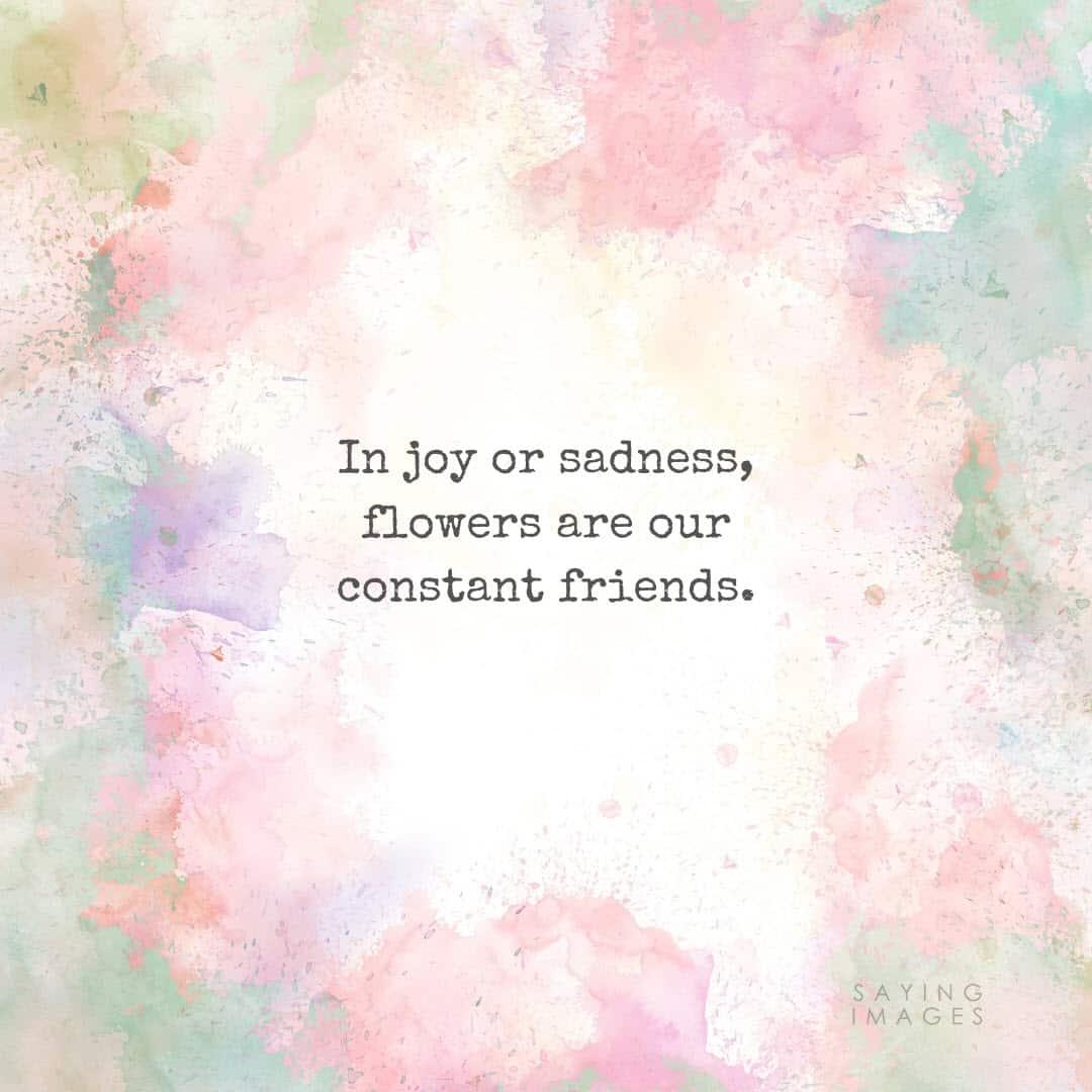 flower joy quotes