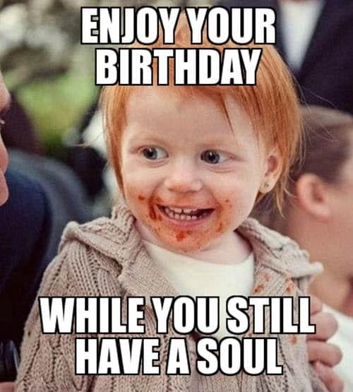 ginger birthday meme