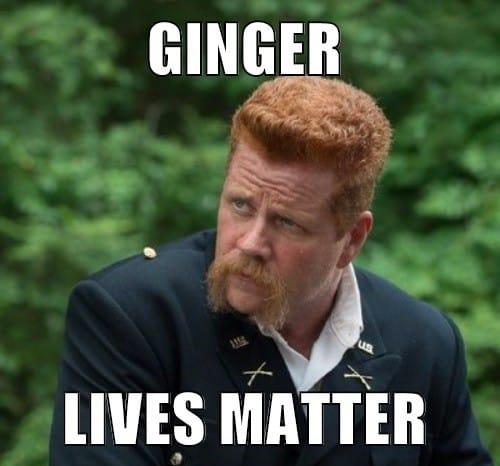 ginger lives matter meme