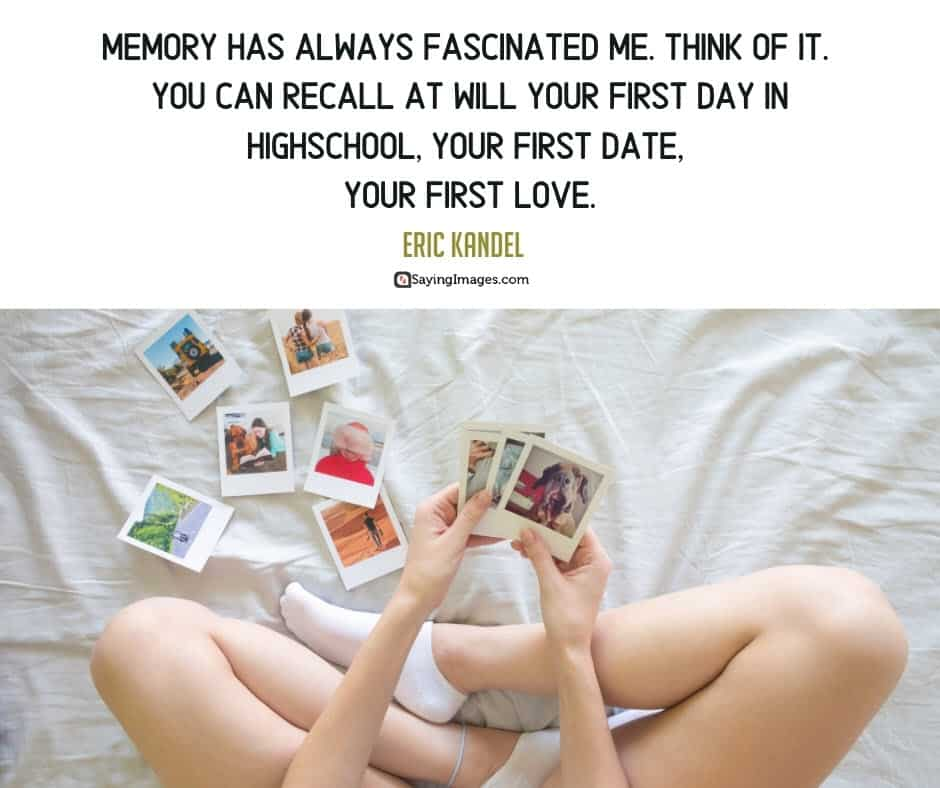 memory date quotes
