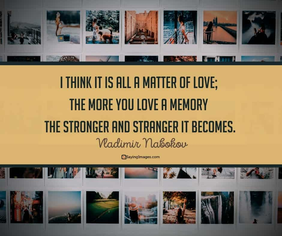 memory love quotes