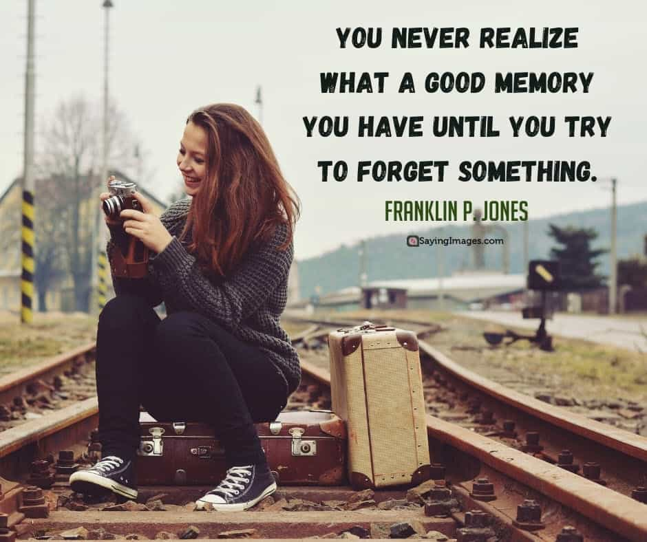 memory realize quotes
