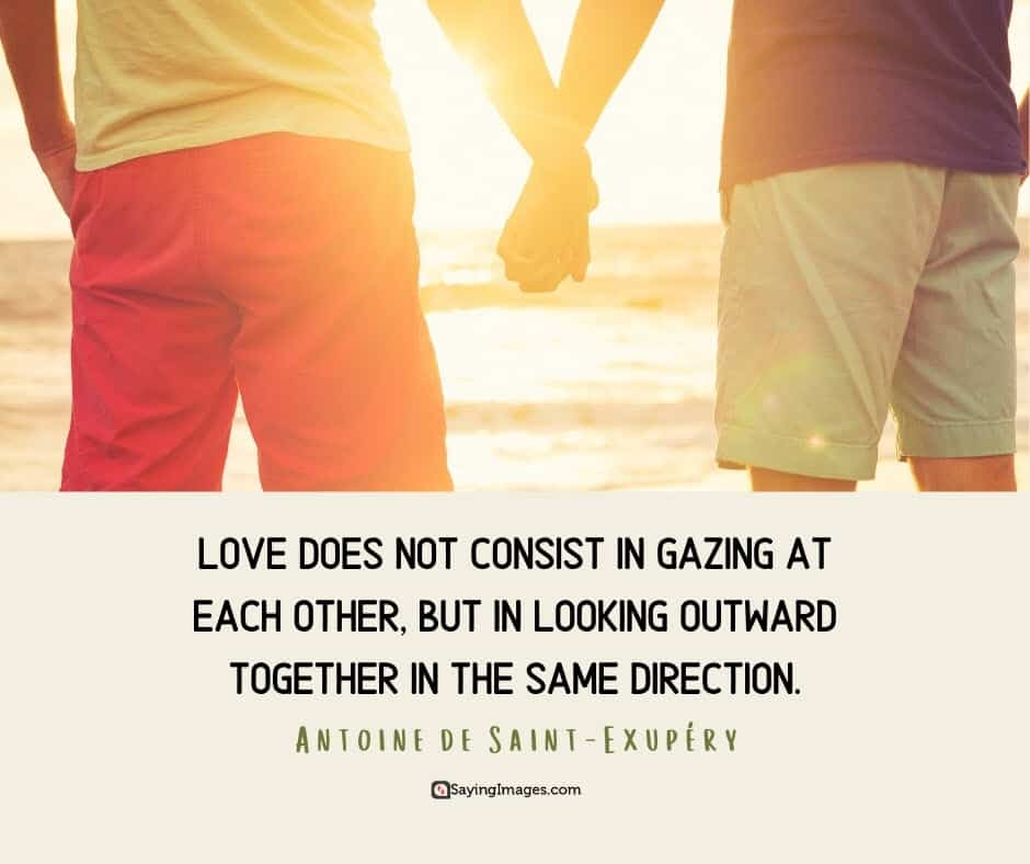 quotes about relationship and love gazing
