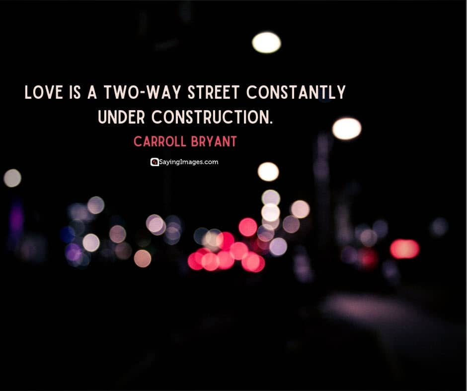 quotes about relationship and love street